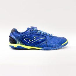 zapato joma dribble azul futsala futbol sala