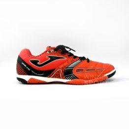 zapato joma dribble naranja futsala